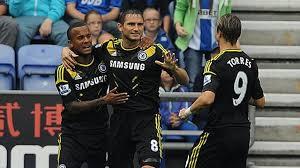 Liga Inggris  - Chelsea raih poin penuh di kandang Wigan