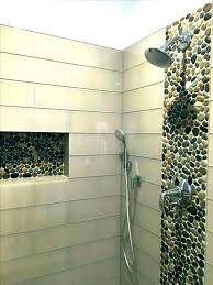 showers river rock shower tile ceramic floor installation how to make a mat throughout r