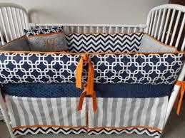 baby nursery stunning grey and orange bedding zenkai site gray