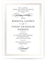 Invitations Formal 11 Gorgeous Formal Wedding Invitations