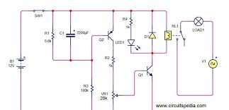 delay timer circuit diagram with relay Solid State Time Delay Relay Wiring Diagram Time Delay Relay Schematic