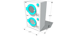stacked washer and dryer dimensions washer minimum closet size for washer dryer stack and or stacked