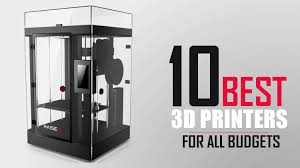 3d Printer Comparison Chart 2018 The 10 Best 3d Printers For 2019 Options For Any Budget