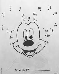 Shiki On Twitter ディズニー塗り絵 その115 ミッキーマウスを描こう