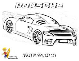 Porsche Coloring Pages Many Interesting Cliparts