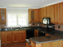 Lights Above Kitchen Cabinets 3alhkecom A Gorgeous Yellow Lighting Placed Across Light Brown