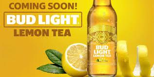 Bud Light Lemon Tea Ingredients Katcef Brothers Bud Light Lemon Tea Coming Soon