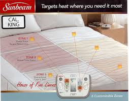 Sunbeam Rest and Relieve Therapeutic Heated Mattress Pad Cal King
