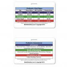 Normal Pediatric Vital Signs Chart Pediatric Vital Signs Badge