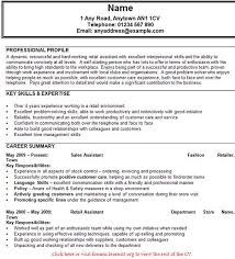 sales assistant cv example   job seekers forumsgood luck