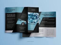Elegant And Playful Trifold Brochure Design On Behance