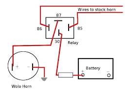 air horn wiring diagram relay wiring diagrams and schematics thesamba vanagon view topic horn
