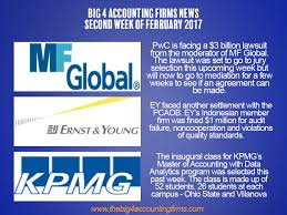 Pwc Back In Court Over Mf Global Ey Indonesia Fined The Big 4