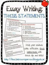 thesis statement tutorial write a thesis statement in easy  essay writing 101 thesis statements