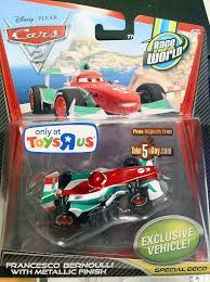cars 2 toys diecast. Wonderful Toys Mattel Disney Pixar CARS 2 Diecast Toys R Us Metallic Francesco Arrives In  The US  Take Five A Day Intended Cars Diecast