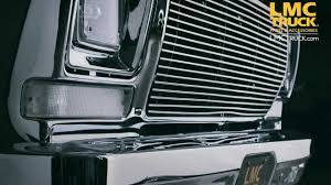 LMC Truck: Ford Grilles 1973-79 - YouTube