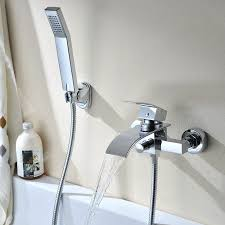 amazing bathtub faucet to shower head converter 40 auralumar chrome plated tub bathroom bath large