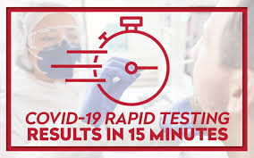 rapid 15 minute covid 19 testing now