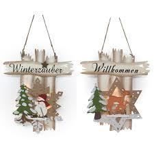 7 Fensterbild Beleuchtet Winterzauber Willkommen 3d