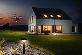 smart security system uses drones to guard your house