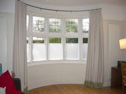 ceiling mounted bay window curtain rod bay window sheer curtains in sizing 1024 x 768