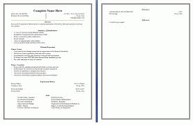 sales and marketing resume format template. sample. classic resume ...
