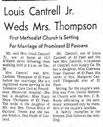 Lanette Hoyle marries Louis Cantrell - Newspapers.com