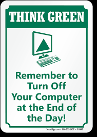Turn Off Computer Turn Off Computer Labels
