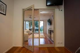 aluminium french doors view