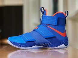 lebron shoes superman. hardwood classic look adorns lebron soldier 10 for tonights debut lebron shoes superman
