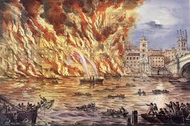 Image result for great fire of london images