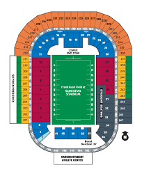 Sun Devils Seating Chart If Cal Band Wants To Play During Football Games Move From