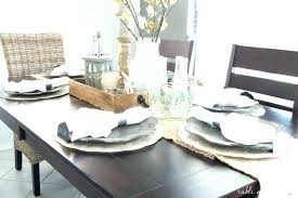 modern table setting ideas modern dining table setting ideas dining room table settings dining room update