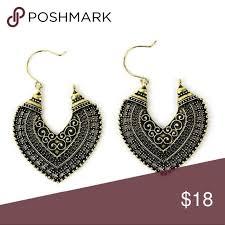 Ethnic style earrings <b>Ethnic style fashion earrings</b> Alloy metal Color ...