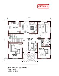 kerala model house 1264 s f t