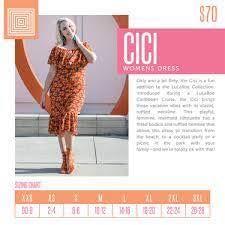 Lularoe Cici Sizing Chart In 2019 Dresses Lularoe Dresses