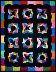 Simple Harmony Quilt Pattern by Phillips Fiber Art at KayeWood.com &  Adamdwight.com