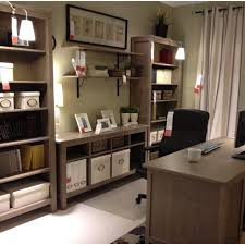 office floating shelves. position of desk and bookcases with shelves above for canvasesetc would office floating e