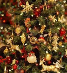 ... Amazing Red And Gold Decorated Christmas Tree Ideas Home Design Awesome  Excellent In Red And Gold ...