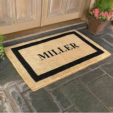 personalized front door matsThe Sturdy And Resistant For All Weather Front Door Mat  Majestic