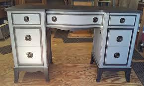 refurbishing furniture ideas. Grey And Black Refurbished Desk Refurbishing Furniture Ideas T
