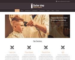 Barber Shop Website Websites For Barber Shop Business Dunamobi Local Marketing 800 939