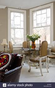 bay window furniture living. Glass-topped Dining Table With Chairs By Birgit Israel In Living Room Rectangular Bay Window Furniture I