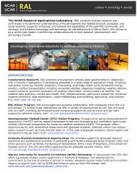 labs programs national center for atmospheric research brochure