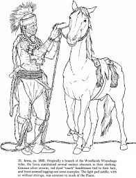 c8a9fbe747024f0504b37820d5d9c13b coloring pages native american dover publ horse coloring page on native american coloring books for adults