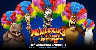 Phim Madagascar 3: Thần Tượng Châu Âu Full Vietsub, Thuyết Minh | Madagascar  3: Europe's Most Wanted (2012)