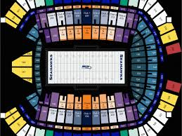 Georgia Dome Seat Map Seattle Seahawks Seating Chart At