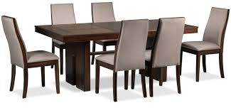 lena 7piece dining room set cherry 7 piece dining room set e52