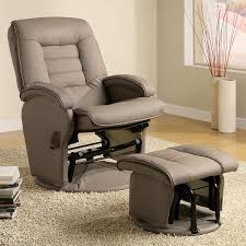 decorating alluring rocker glider recliner 6 chair hardware parts with ottoman and a half set outdoor