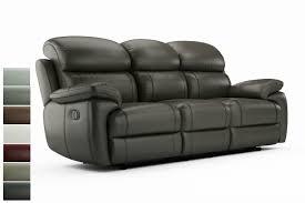 3 seater recliner sofa. Unique Recliner Maya 3Seater Recliner Sofa Throughout 3 Seater